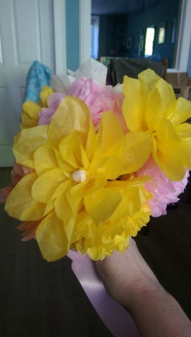 Tissue paper flowers kit what the craft tissue paper flowers mightylinksfo Image collections