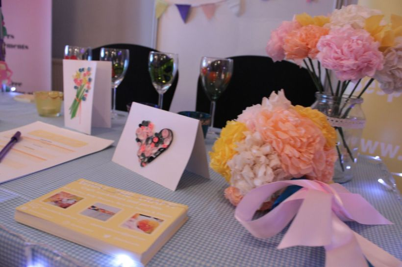 Edinburgh wedding fair. Craft Parties. Hen Parties
